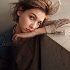 色気 ボブ ショートボブ デート ヘアスタイルや髪型の写真・画像