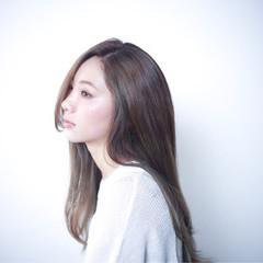 フェミニン 外国人風 ガーリー ロング ヘアスタイルや髪型の写真・画像