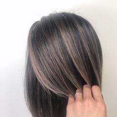 外国人風カラー ミディアム ナチュラル 外国人風 ヘアスタイルや髪型の写真・画像