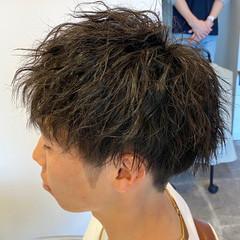 メンズヘア ストリート メンズ ショート ヘアスタイルや髪型の写真・画像