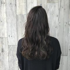 外国人風カラー イルミナカラー 秋 グレージュ ヘアスタイルや髪型の写真・画像
