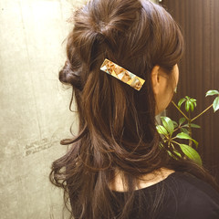 ロング フェミニン 夏 ショート ヘアスタイルや髪型の写真・画像