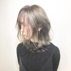 ボブ 大人女子 ストリート マッシュ ヘアスタイルや髪型の写真・画像