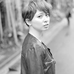 ストリート ショートボブ 外国人風 ショート ヘアスタイルや髪型の写真・画像