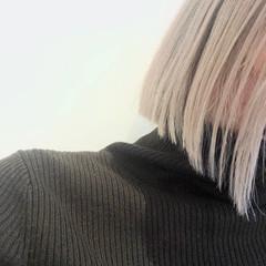 ボブ モード ミニボブ ストレート ヘアスタイルや髪型の写真・画像