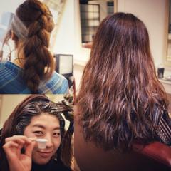 ナチュラル ロング パーマ 大人かわいい ヘアスタイルや髪型の写真・画像