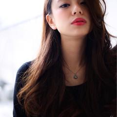 モード 暗髪 外国人風 パーマ ヘアスタイルや髪型の写真・画像