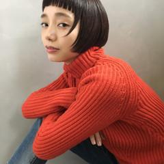 大人かわいい 外国人風 色気 ボブ ヘアスタイルや髪型の写真・画像