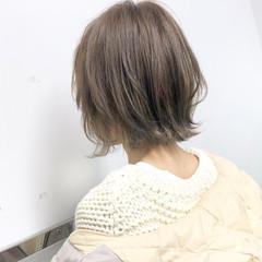 アンニュイほつれヘア デート ボブ ナチュラル ヘアスタイルや髪型の写真・画像