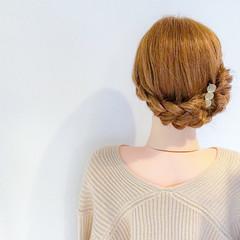 デート アウトドア 簡単ヘアアレンジ フェミニン ヘアスタイルや髪型の写真・画像