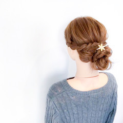デート 上品 エレガント オフィス ヘアスタイルや髪型の写真・画像