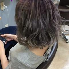 透明感 フェミニン 外国人風カラー ボブ ヘアスタイルや髪型の写真・画像