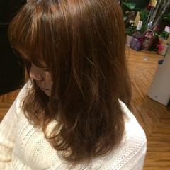 大人かわいい ゆるふわ ストレート フェミニン ヘアスタイルや髪型の写真・画像