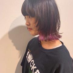 ストリート マッシュウルフ ショート ウルフカット ヘアスタイルや髪型の写真・画像