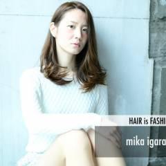 モテ髪 フェミニン 丸顔 卵型 ヘアスタイルや髪型の写真・画像