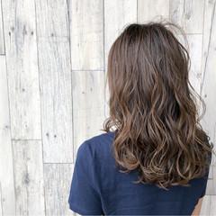 イルミナカラー ナチュラル 抜け感 透明感 ヘアスタイルや髪型の写真・画像