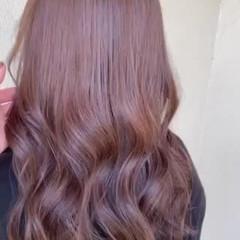 ブラウン フェミニン ショコラブラウン 大人ロング ヘアスタイルや髪型の写真・画像