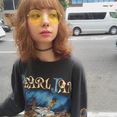 ハイライト ミディアム ピュア 外国人風 ヘアスタイルや髪型の写真・画像