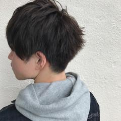 刈り上げ メンズ ショート アッシュ ヘアスタイルや髪型の写真・画像