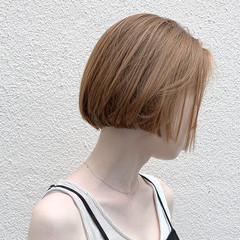 ショートヘア ミニボブ ナチュラル ボブ ヘアスタイルや髪型の写真・画像