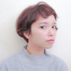 ゆるふわ 前髪あり 冬 暗髪 ヘアスタイルや髪型の写真・画像