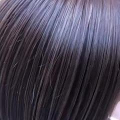 極細ハイライト ナチュラル ショートボブ ボブ ヘアスタイルや髪型の写真・画像