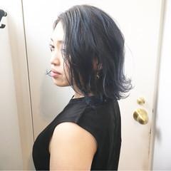 ストリート ボブ ブルージュ マッシュヘア ヘアスタイルや髪型の写真・画像
