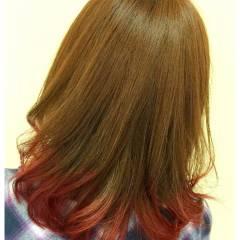 愛され モテ髪 ゆるふわ セミロング ヘアスタイルや髪型の写真・画像