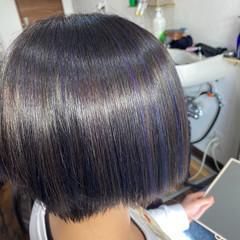 ブリーチカラー ブリーチ必須 モード ブリーチオンカラー ヘアスタイルや髪型の写真・画像