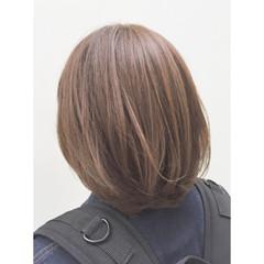 ナチュラル アッシュ 外国人風 ブラウン ヘアスタイルや髪型の写真・画像