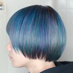 ハイトーン モード 派手髪 ハイトーンカラー ヘアスタイルや髪型の写真・画像