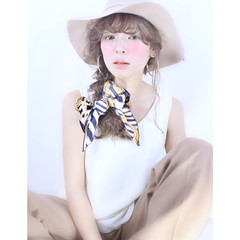 ヘアアクセ 簡単ヘアアレンジ 大人かわいい ショート ヘアスタイルや髪型の写真・画像