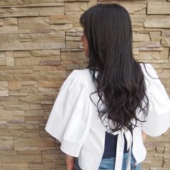 フェミニン 秋 透明感 ロング ヘアスタイルや髪型の写真・画像