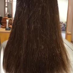 パーマ アンニュイほつれヘア ロング デート ヘアスタイルや髪型の写真・画像