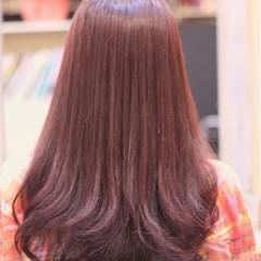 デジタルパーマ 可愛い ロング ガーリー ヘアスタイルや髪型の写真・画像