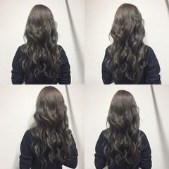 ロング ナチュラル 暗髪 外国人風 ヘアスタイルや髪型の写真・画像