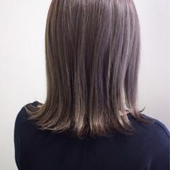 ボブ 外ハネ 外国人風カラー ハイライト ヘアスタイルや髪型の写真・画像