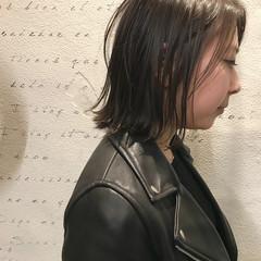 切りっぱなし かっこいい デート 黒髪 ヘアスタイルや髪型の写真・画像