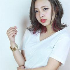 透明感 グレージュ 上品 外国人風カラー ヘアスタイルや髪型の写真・画像