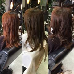 外国人風 ナチュラル 夏 ブラウン ヘアスタイルや髪型の写真・画像