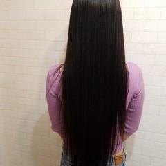 エレガント 久屋大通 ロング ワンカールパーマ ヘアスタイルや髪型の写真・画像