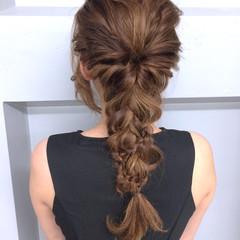 夏 ロング ショート ハーフアップ ヘアスタイルや髪型の写真・画像