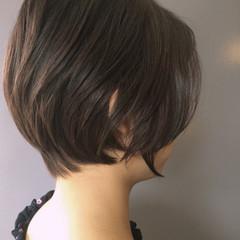 大人女子 ショート 大人かわいい デート ヘアスタイルや髪型の写真・画像