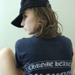 外国人風カラー バレイヤージュ ダブルカラー ボブ ヘアスタイルや髪型の写真・画像