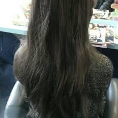 暗髪 ロング 外国人風 黒髪 ヘアスタイルや髪型の写真・画像