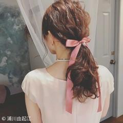 大人かわいい デート ゆるふわ ヘアアレンジ ヘアスタイルや髪型の写真・画像