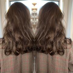ブランジュ 大人ハイライト ロング ナチュラル ヘアスタイルや髪型の写真・画像