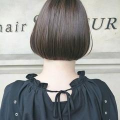 ボブ ツヤ髪 モード ショートボブ ヘアスタイルや髪型の写真・画像