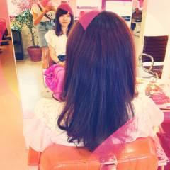 大人女子 モテ髪 セミロング コンサバ ヘアスタイルや髪型の写真・画像