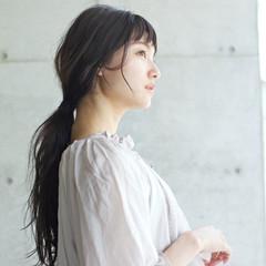 リラックス アンニュイ 女子会 ウェーブ ヘアスタイルや髪型の写真・画像